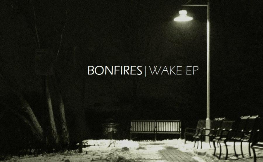 "Bonfire's first EP ""Wake"" Album Cover"