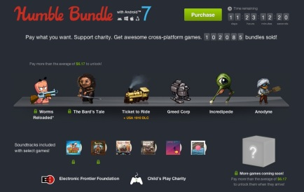 Humble Bundle w/ Android 7