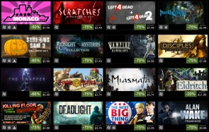 Another 16 Games on Sale