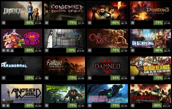 16 Games on Sale