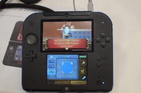 Zelda on the 2DS